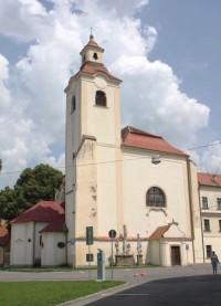 Moravský Krumlov - kostel sv. Bartoloměje a klášter