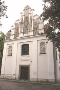Vysoké Mýto - kostel sv. Trojice