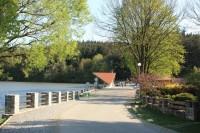 Hráz rybníka Olšovce