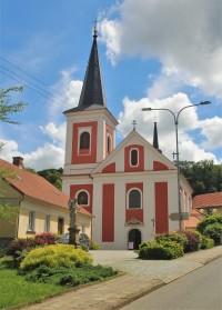 Rájec-Jestřebí - kostel Všech svatých