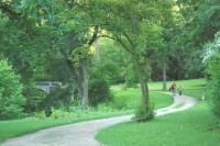 Moravský Krumlov - zámecký park