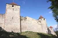 Hrad Veveří - hradební věže