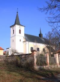 Doubravice nad Svitavou - kostel sv. Jana Křtitele