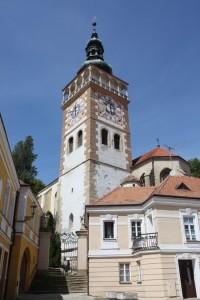 Mikulov - kostel sv. Václava