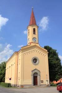 Petrovice - kostel Povýšení sv. Kříže