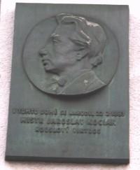 Ústí nad Orlicí - rodný dům Jaroslava Kociana