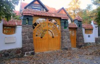 Brno - Jurkovičova vila, vstupní část