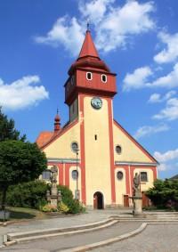 Světlá nad Sázavou - kostel sv. Václava