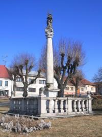 Křižanov - mariánský sloup