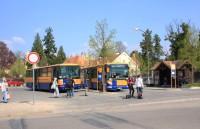 Lednice - autobusové stanoviště
