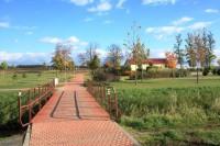 Velké Pavlovice - park u nádraží