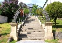 Rosice - kamenné schody