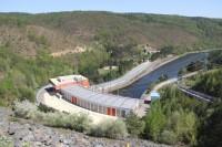 Dalešická přehrada - hráz