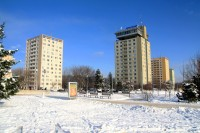 Centrum nových Kohotovic na ulici Voříškové