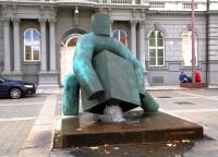 Brno - socha Spravedlnost