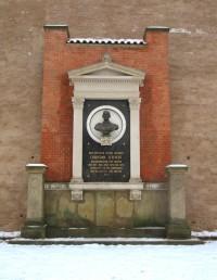 Brno - památník Christiana d´Elverta