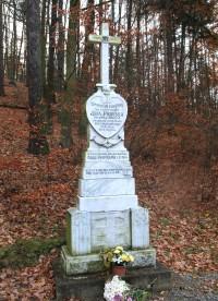 Brno-Žebětín - kříž Jana Pospíšila