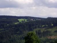Zuklín a hora Javorník od Malče