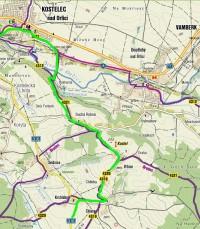Cyklovýlet: Přes rozhlednu Vrbice a podél Orlice