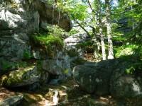 Čertovy kameny - vyhlídka