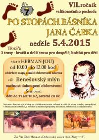 Po stopách básníka Jana Čarka