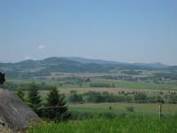 Výhled na Šumavské vrchy