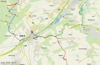 Mapka pochodu
