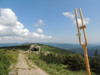 Krkonoše - Dvoračky a borůvkový dort, ŘOPík u Harrachových kamenů a Huťák