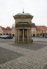 Korunovační kašna - Konvička v Jičíně