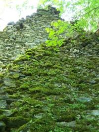 Rabštejn - zeď1