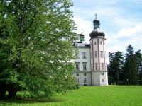 Vrchlabí - zámek, pohled ze zahrady