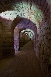 Prohlídky podzemních chodeb pevnosti Terezín
