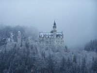 Na zámek Neuschwanstein