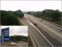 Konec placené dálnice v Rosignano Marittimo. Do cíle bylo už jen 15 km.