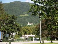 První velká zastávka - Vipiteno – Sterzing, parkoviště s názvem Sadobre-Casteltono