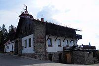 Horská chata Pancíř s rozhlednou
