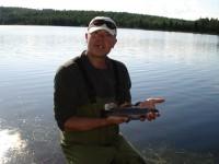 rybaření na černé nise