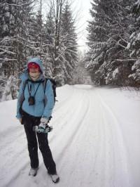 cesta ze Skalky do Ostravice