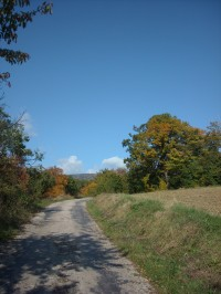 cesta na Lopeník z Nove Bosacy