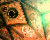 Svatováclavská koruna v Mostecké věži Karlova mostu