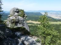 Szczeliniec Wielki - skalní útvar na prohlídkovém okruhu