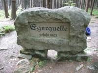 Pramen řeky Ohře / Egerquelle