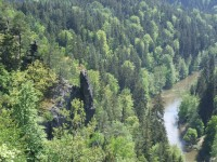 Ohře tekoucí ke Svatošským skalám