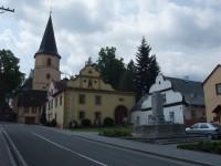 Kostel sv.Tomáše s farou