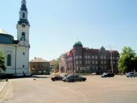 Nový Bor - náměstí Míru