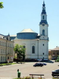 Nový Bor - kostel Nanebevzetí Panny Marie