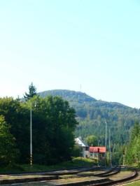 Jedlová hora od nádraží