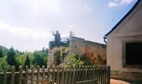 Poustevník na hradě