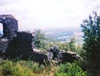 Pohled z hradu