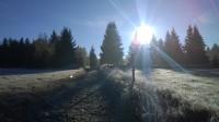 Podzimní túra po Šumavě -Prášily-Prášilské jezero-Poledník-Frantův most-jezero Laka-Prášily.